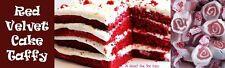 RED VELVET CAKE - TAFFY TOWN Salt Water Taffy Candy - 3/4 LB BAG - FRESH