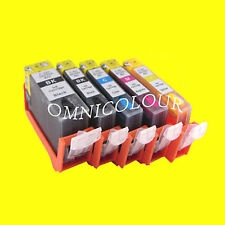 5 CANON REFILLABLE CARTRIDGE PGI-520 CLI-521 MP540 iP4600