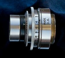 "Dallmeyer Triple Anastigmat coated 1"" f2.9 C-mount lens"