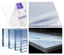 "30mil Clear Lexan Polycarbonate Plastic Sheet Racecar Vacuum-Forming 48"" x 96"""