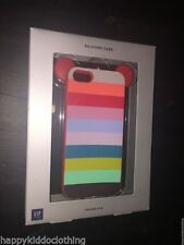 GAP kids iPhone 5 5S  Silicone Case Brand New In Box Rainbow
