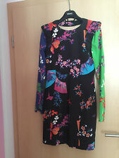 Versace for H&M Kleid Dress Seide Silk size EUR 42 US 12 UK  16