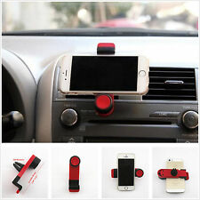 Auto SUV Air Vent Outlet Mount Mini Red Scalable Holder Bracket For Smart Phone