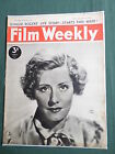 FILM WEEKLY- UK MOVIE MAGAZINE - 6 MAY 1939 - GINGER ROGERS - CLIVE BROOK