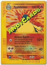 #2 SCAN - TYPHLOSION 64/165 - RARA REVERSE HOLO - EXPEDITION - POKEMON ANDYCARDS