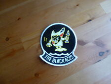 VF-41 The Black Aces Patch F-14 TOMCAT Oceana USS Nimitz Cruise FA-18 Libya Navy