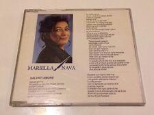 """MARIELLA NAVA """"SALVATI AMORE"""" RARO CDsingolo 1993"""