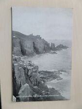 Postcard of the Longships Lighthouse lands End Cornwall Pre 1945