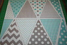 Riley Blake Banner DIY Bunting - Blues - 18 FLAGS! Lovely decoration!