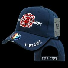 Fire Department Hat Ball Cap American Rescue Firefighter Baseball Caps Rapdom JW