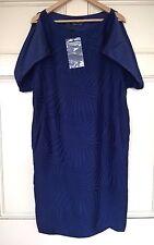 ALEXANDER McQUEEN TEXTURED SILK BLEND DRESS BNWT SIZE 40 / 10