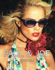 PUBLICITE ADVERTISING 094  2013   PAUL & JOE  collection lunettes solaires