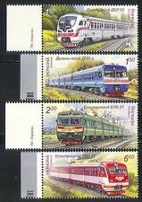 Ukraine 2011 Trains/Transport/Railways/Rail 4v (n32178)