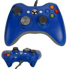 New USB Wired Gamepad Controller Handle for Microsoft XBox 360 Blue