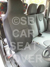 VW TRANSPORTER T4 VAN SEAT COVERS ROSSINI ANTHRACITE SPORTS 1 DRIVER SEAT ONLY