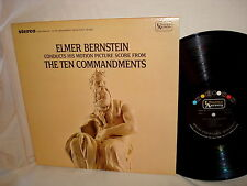s/t THE TEN COMMANDMENTS-ELMER BERSTEIN-UNITED UAS 6495  VG/VG+  LP