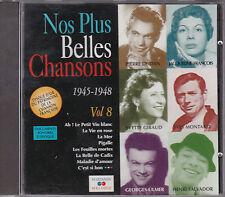 CD 20T NOS PLUS BELLES CHANSONS 1945-1948 MARIANNE MELODIE MARGY/ULMER/RENAUD