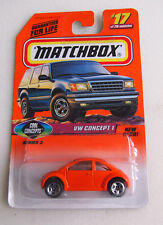 MATCHBOX 1997 ISSUE VW CONCEPT 1 SERIES 3 #17