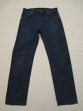 USA Made Mens Wrangler 13MWZ Cowboy Cut Blue Jeans 32x31 Measure 31.5x31