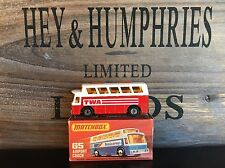 matchbox superfast no.65B Rare TWA Version mint OVP v.good from 1977