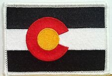 COLORADO Flag Patch with VELCRO® brand fastener Military Emblem #890