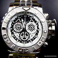 Invicta Sea Hunter III Black 70mm Full Sized Swiss Steel Chronograph Watch New
