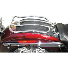 """Motherwell Chrome 7"""" Solo Luggage Rack for 05-14 Harley Softail Models"""