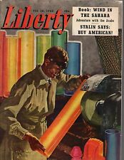 1945 Liberty February 10 - Tiger Jack Wood's Armored division; Stalin buys U.S.
