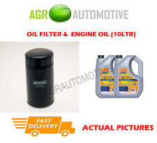 DIESEL OIL FILTER + LL 5W30 ENGINE OIL FOR KIA SEDONA 2.9 126 BHP 1999-04