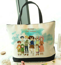 Anime Digimon Hand Bag Shopping Bag School Bag 12th Anniversary Canvas Taichi