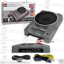 DUAL BAK1500 CAR AUDIO 10-INCH LOW PROFILE AMPLIFIED SUB SUBWOOFER 1500W MAX