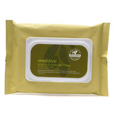 Innisfree 30 Sheets 150g - Olive Real Cleansing Tissue