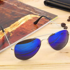 Elegant Men Women Summer Eyewear Reflective Mirror Lens Sports Sunglasses SE
