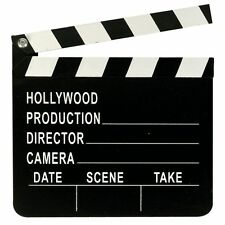 Movie Directors Clapperboard Hollywood Film Makers Production Clapper Board