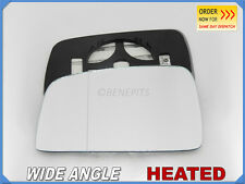 Wing Mirror Glass KIA SPORTAGE II 2005-2007 Wide Angle HEATED Left Side #JK013
