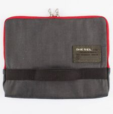"Diesel d str action rouge univ étui tablette bnwt ipad man bag 7.9 9.7 10"" rrp £ 59"