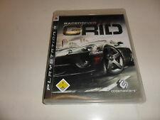 PlayStation 3 PS 3 Race Driver Grid
