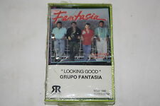 GRUPO FANTASIA Looking Good LATIN (Audio Cassette Sealed)