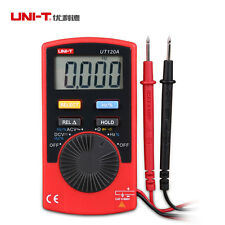 UNI-T UT120A LCD Digital Multimeter Meter AC DC Voltage Resistance Frequency DMM