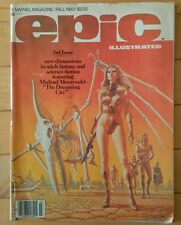 Epic Illustrated #3 (Fall 1980, Marvel) 1st DREADSTAR! Upcoming TV Show! HI GRD