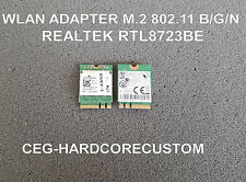 WLAN WiFi Realtek rtl8723be Wireless Adapter m.2 802.11 b/g/n + Bluetooth