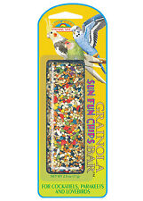 Bird Stick Food Treat Snack for Cockatiels Budgies & Lovebirds - 71gr by Quiko