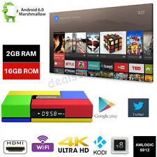 T95K Pro S912 2+16GB 4K Smart TV Box Android6.0 Octa Core Media Player WIFI HDMI
