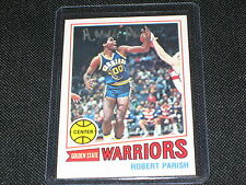 ROBERT PARISH 1977-78 TOPPS #111 ROOKIE AUTOGRAPHED SIGNED CARD CELTICS HOF NICE