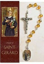 St. Gerald Chaplet (Rosary) NEW SKU PS925