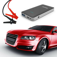 NINETEC 12V Auto Starthilfe + Power Bank Akku 2in1 Black für Iphone Tablet PC
