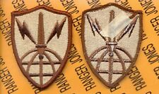 USA Information Systems Engineering Command Desert DCU Duty uniform patch m/e