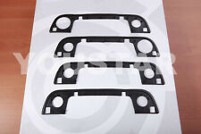 SET (x4) Outer Exterior Door Handle Rubber Seal gaskets for BMW E32 E34 E36 h04