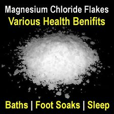 500g Magnesium Chloride Flakes Bath Foot Soak Health Energy Relax Sleep Muscles