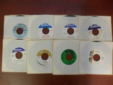 Vintage TEXAS Vinyl Records Lot: 8 1970s 45s Cowboy Cajun Country,New Old Stock